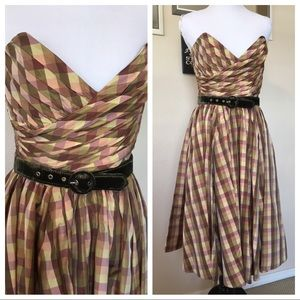 Betsey Johnson vintage style dress, sz 2